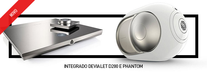 Integrado Devialet D200 e Phantom