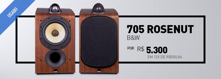 B&W 705 Rosenut